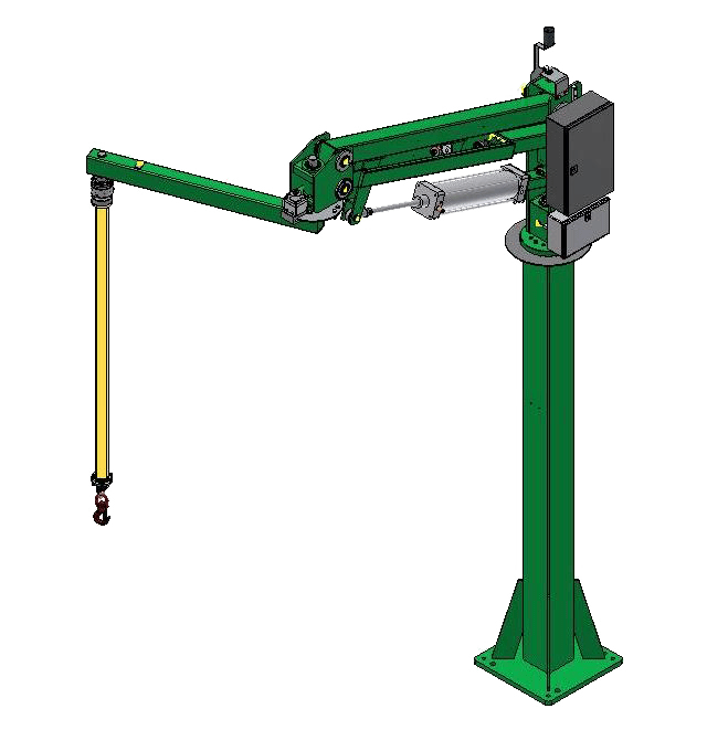 Liftronic  Air column mounted